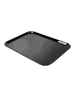 bandeja para cÚpula 40,5x56 cm negro policarbonato (1 unid.)