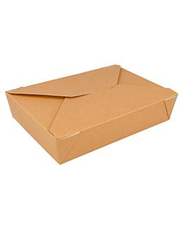 scatole americane per micro. 1470 ml 300 g/m2 + 12 pp 19,8x14x4,8 cm marrone cartone (50 unitÀ)