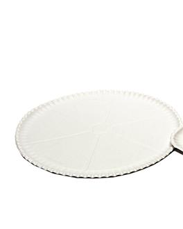 assiettes À pizza Ø 33 cm blanc carton (200 unitÉ)