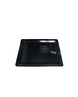 bacs gn 1/2 2 (h) cm noir melanine (6 unitÉ)