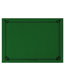 mantelines 48 g/m2 31x43 cm verde jaguar celulosa (2000 unid.)