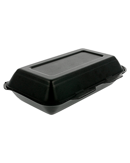 """""""lunch boxes"""" 24x15,5x7 cm negre pse (500 unitat)"""