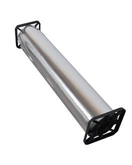 aluminio comercial 12µ 0,45x300 m plateado aluminio (1 unid.)
