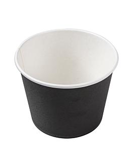behÄlter 1000 ml 300 + 18 pe g/m2 Ø13,5x10,4 cm schwarz feinkarton (500 einheit)