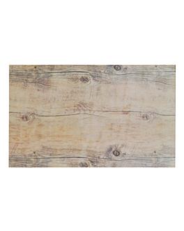 vassoio gn 1/1 imitazione legno 53x32 cm melamina (3 unitÀ)