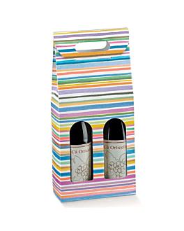30 u. cajas 2 botellas 'bayadÈres'  cartÓn (1 unid.)