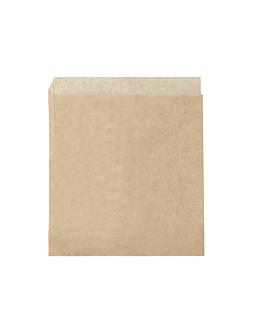 sacos abertos 2 lados 34 g/m2 17x18 cm natural perg.anti-gordura (500 unidade)