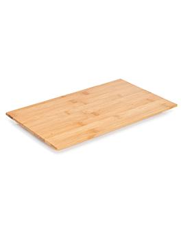 tÁbua plana 46,4x22,9x2,2 cm bambÚ (1 unidade)