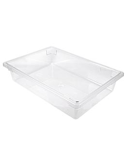 contenitore alimenti 30 l 66x46x15 cm trasparente policarbonato (1 unitÀ)