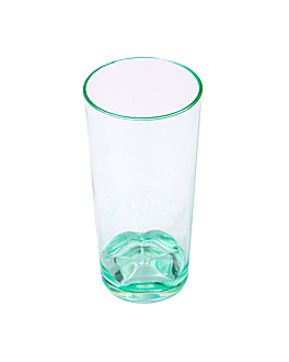 mini verres injectÉes 50 ml Ø 3,6x7,4 cm vert d'eau ps (600 unitÉ)