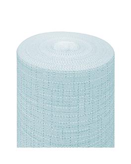 """""""tÊte À tÊte"""" pre. 120cm (20 ser.) 'dry cotton' 55 gsm 0,40x24 m turquoise airlaid (6 unit)"""