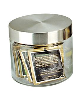 pot stockage cylindrique 830 ml Ø 11,2x12 cm transparent verre (12 unitÉ)