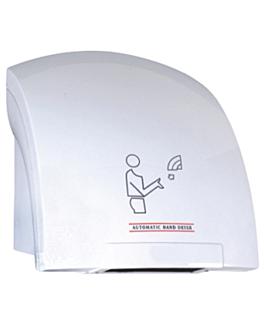"""secador de mÃos elÉtrico 45 l"""" 65ºc 24x25x23 cm branco abs (1 unidade)"""