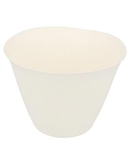 vasos choko 'bionic' 175 ml Ø 8,3x6,1 cm blanco bagazo (200 unid.)