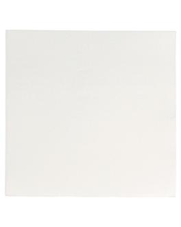 serviettes ecolabel 'double point' 18 g/m2 33x33 cm blanc ouate (1200 unitÉ)