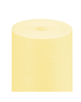"mantel ""tÚ y yo"" 'like linen' 70 g/m2 0,40x24 m amarillo spunlace (6 unid.)"