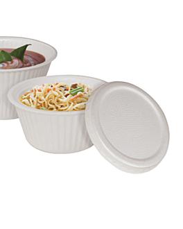 deckel bowls suppe 13,5 cm. diam Ø 13,5 cm weiss pse (600 einheit)