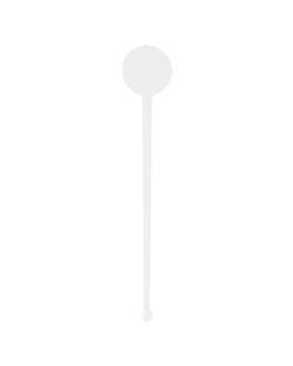 "stirrers for drinks ""english"" 17,5 cm white ps (100 unit)"