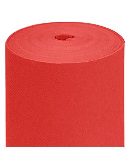 nappe en rouleau 55 g/m2 1,20x50 m rouge airlaid (1 unitÉ)