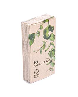 10 u. x 10 u. paÑuelitos 3 capas 21x21 cm natural kraft (1 unid.)