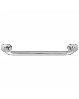 barra de apoyo baÑera 40,6x6,5x6 cm plateado inox (1 unid.)