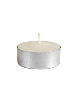 288 u. bougies chauffe plats Ø3,5x1,5 cm blanc paraffine (1 unitÉ)