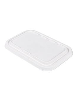 coperchi per codici 221.38/39 'bionic' 22,2x14,7x1,2 cm bianco bagassa (600 unitÀ)