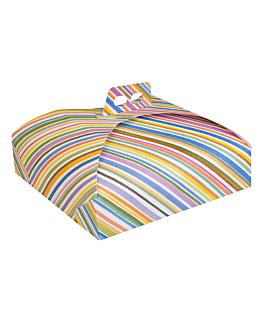 cajas para tartas 43x43x7 cm surtido cartÓn (60 unid.)
