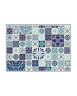 """table mats offset """"tiles"""" 70 gsm 31x43 cm four coloured paper (2000 unit)"""