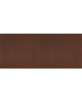 """""""tÊte À tÊte"""" folded 1/2 'spunbond' 60 gsm 40x120 cm chocolate pp (400 unit)"""