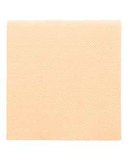 serviettes ecolabel 'double point' 18 g/m2 20x20 cm ivoire ouate (2400 unitÉ)