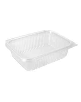 saladiers avec charniÈre 750 ml 18,8x14,3x5,2 cm transparent pla (400 unitÉ)
