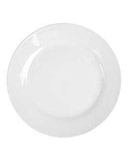 piatti piani Ø 24 cm bianco porcellana (48 unitÀ)