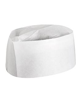 gorros ajustables barco 28 cm blanco papel (100 unid.)