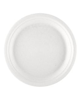 platos 'bionic' Ø 30x2,5 cm blanco bagazo (200 unid.)