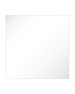 specchio quadrato 41x41x0,5 cm acrilico (1 unitÀ)