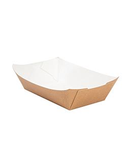 barchette 180 g 300 g/m2 9,3x5,3x3,5 cm marrone cartone (100 unitÀ)