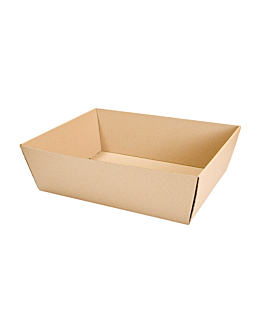 cestas microcanal 382 g/m2 39x30x13 cm kraft (20 unid.)