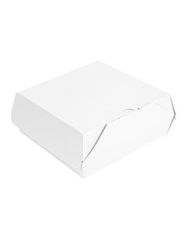 "boÎtes ""lunch box"" paperlock 'thepack' 220 g/m2 21x20,5x8 cm blanc carton ondulÉ nano-micro (300 unitÉ)"