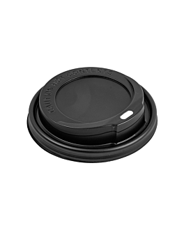 high lids for 360/480 ml cups  black ps (1000 unit)