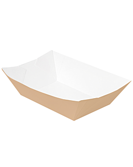 barquettes 'thepack' 1440 g 220 g/m2 13,5x8,5x6,2 cm naturel carton ondulÉ nano-micro (600 unitÉ)