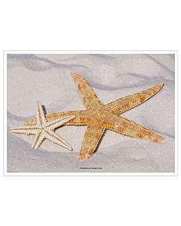 tovagliette offset 'starfish' 70 g/m2 31x43 cm quatricomia carta (2000 unitÀ)