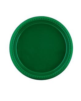 assiette de couleur Ø 23 cm vert jaguar ps (500 unitÉ)