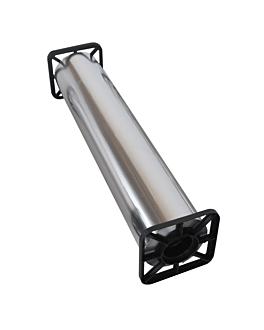 aluminio comercial 12µ 0,40x300 m plateado aluminio (1 unid.)