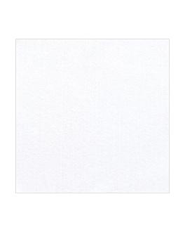 toalhas de mes dobradas m 'like linen' 70 g/m2 100x100 cm branco spunlace (200 unidade)