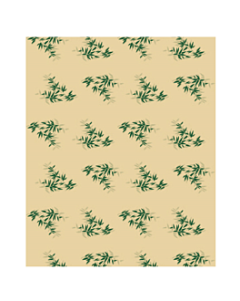 carta imballaggio 'feel green' 34 g/m2 31x31 cm naturale pergamana antigrassi (4000 unitÀ)