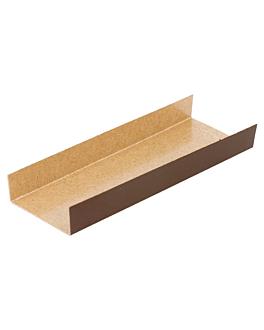 base piegato 380 g/m2 13x4,5+1,5 cm cioccolato/pralina cartone (200 unitÀ)