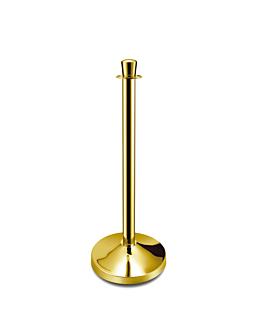 columnas mÓviles Ø 32x93,5 cm dorado (2 unid.)