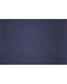 manteles plegado m 48 g/m2 80x120 cm azul marino celulosa (200 unid.)