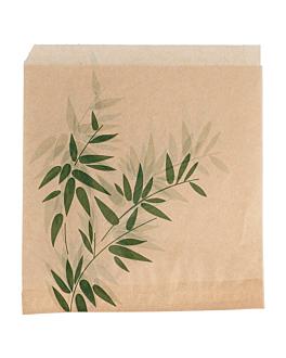 tÜten 2-seitig offen 'feel green' 34 g/m2 13x14 cm natur pergament fettabweisend (1000 einheit)